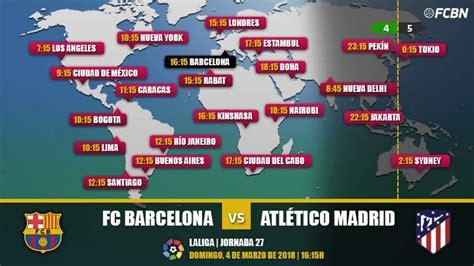Cuándo y dónde ver el partido FC Barcelona vs Atlético de ...