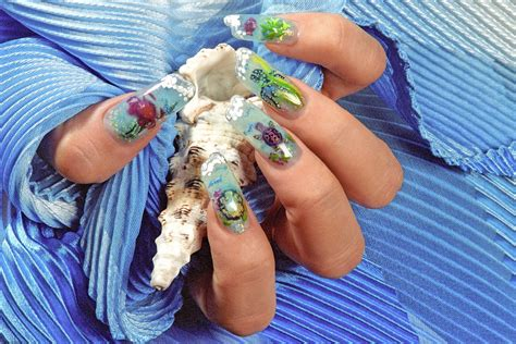 New Nail Art Designs With Special Techniques For 2014
