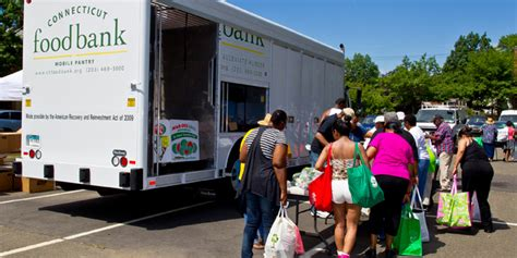 mobile food pantry programs connecticut food bank