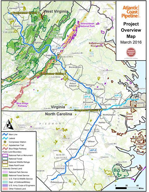 3 N.C. Protests Target Atlantic Coast Pipeline   WFAE