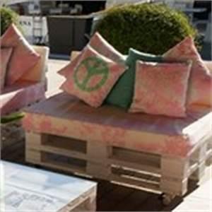 Fabriquer Un Canapé En Palette : comment fabriquer des meubles en palette ~ Voncanada.com Idées de Décoration
