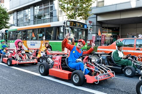 Visitors Can Tour Japan In Go Karts Dressed As Characters
