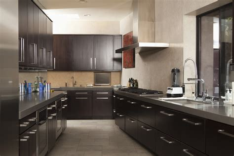 Wood Floor Ideas For Kitchens - 201 galley kitchen layout ideas for 2018