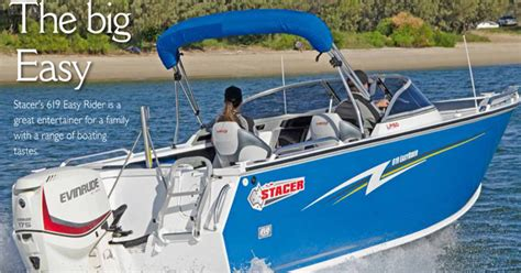 The Fishing Boat Club Reviews by Stacer Bowriders Aluminium Boat Range