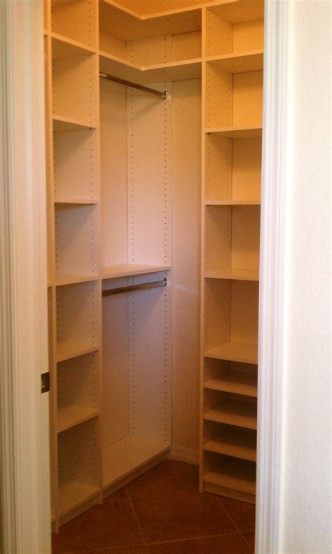 small walkin closet even a small closet can make you feel like a king or queen naples closets