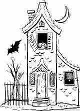 Coloring Haunted Houses Haus Printable Sheets Ausmalbilder Halloween Clipart Cartoon Victoria Drawing Justice Building Casa Kleurplaten Clip Zum Kleurplaat Konabeun sketch template