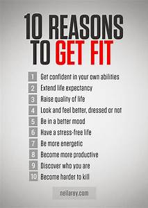 10 Reasons to Get Fit #mondaymotivation #fitness # ...