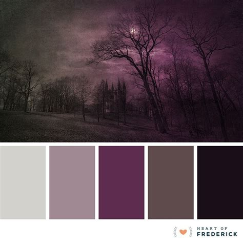Gothic Color Palette  Google Search  Color Inspirations