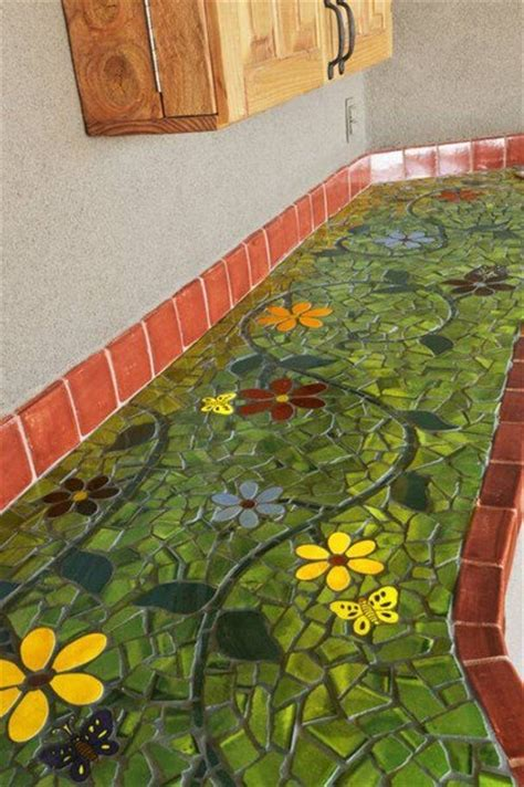 mosaic tile kitchen countertop 17 best images about counter top on my email 7866