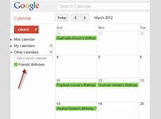 How to Get Facebook Birthday Reminder via Google Calendar