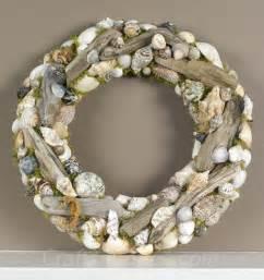 Seashell and Driftwood Wreath