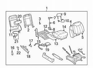 Gmc K1500 Seat Cushion Pad  Split Bench Seat 60  40