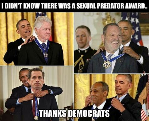 Obama Bill Clinton Meme - fact check president obama awarded the presidential medal of freedom to weinstein weiner