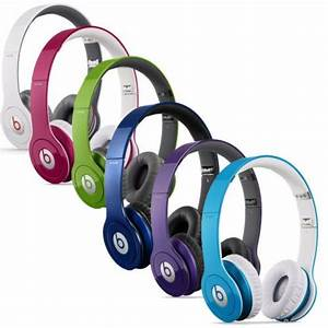 Beats by Dr Dre Solo HD On-Ear Headphone Pink, Grape, Dark ...