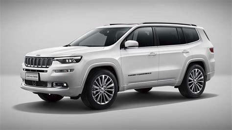 Jeep Grand Picture by Jeep Grand Commander Debuts In China With Its Muscles