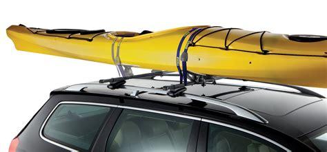thule kayak rack for 2 kayaks thule set to go kayak carrier