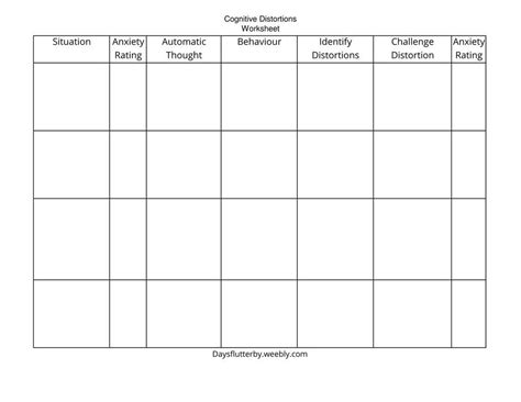 Free cognitive behavioural therapy cbt worksheets and self help resources cbt worksheets cognitive behavioral therapy cbt therapy worksheets. Pin on Going mental