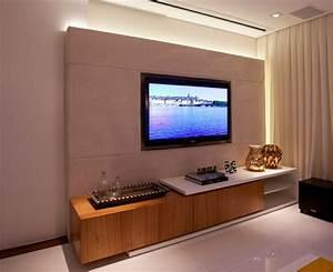 Wohnzimmer gestalten wohnzimmer einrichten wandpaneele tv for Tv wand gestalten