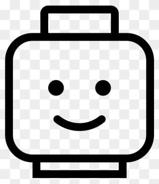 worried lego head  printable printable lego face