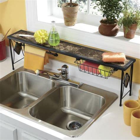 shelf kitchen sink marbleous the sink shelf from seventh avenue