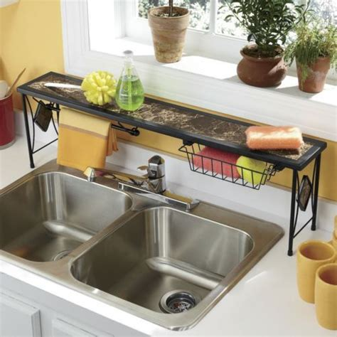 Marbleous Overthesink Shelf From Seventh Avenue