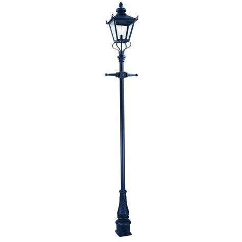 l post light fixtures elstead lighting grian single light l post lantern