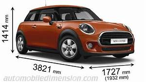 Longueur Mini Cooper : dimensions of mini cars showing length width and height ~ Maxctalentgroup.com Avis de Voitures