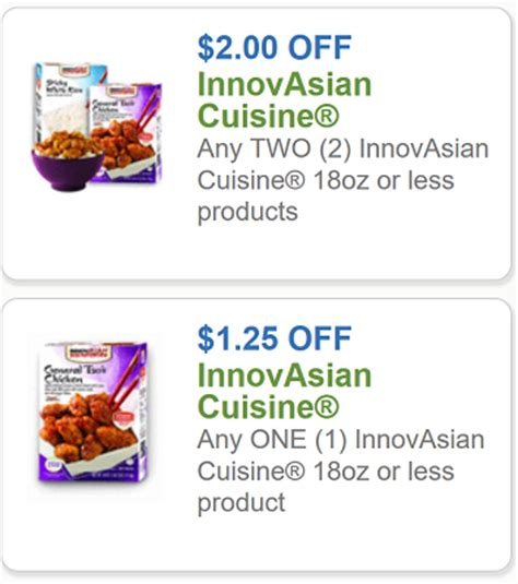 code promo cuisine addict innovasian coupon 1 25 any one innovasian cuisine