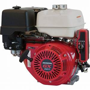 Honda Horizontal Ohv Engine With Electric Start  U2014 389cc