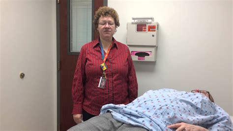 Patient Drapes - draping a standardized patient