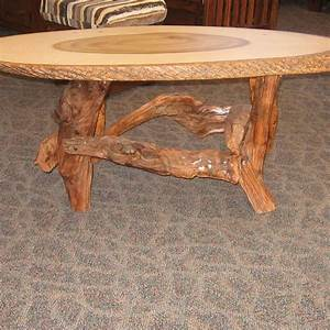 Poplar live edge slab coffee table amish oak for Oak slab coffee table