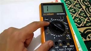 Comment Mesurer Amperage Avec Multimetre : ep5 les multim tres part 14 mesure de la continuit ~ Premium-room.com Idées de Décoration