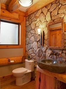 le mur en pierre apparente en 57 photos With salle de bain avec pierre de parement