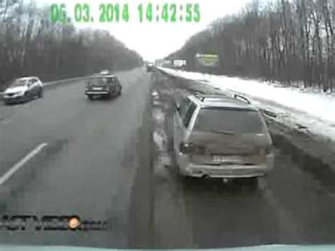 accidents de la route en russie de la route stupide en russie