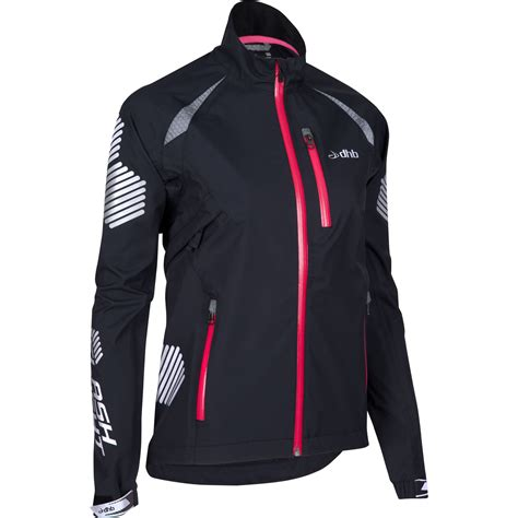 cycling waterproofs wiggle dhb women 39 s flashlight highline waterproof jacket