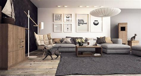 quel tapis avec canapé gris 20 creative living rooms for style inspiration