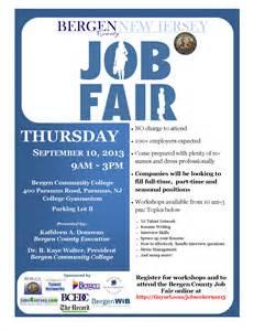 Sample Job Fair Announcement Flyer