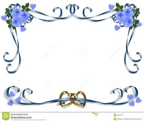 blue wedding borders clipart  images wedding