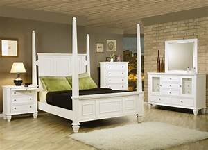White, Bedroom, Furniture, Sets, For, Adults