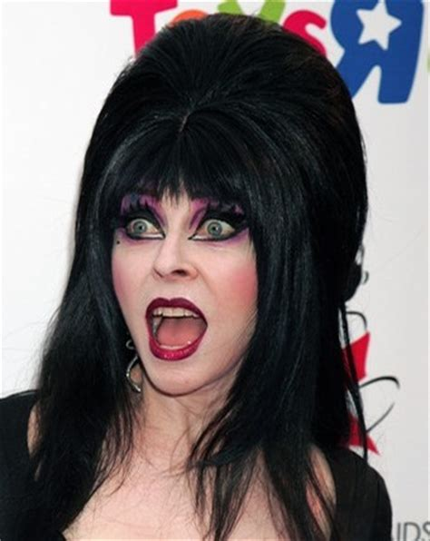 cassandra peterson natural hair color what would halloween be without elvira jennysue makeup