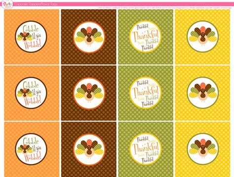 transformer cupcake topper template free printable thanksgiving cupcake toppers happy easter