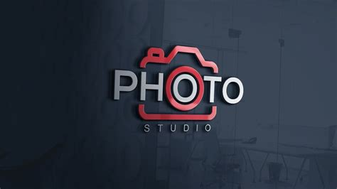 easily design  photography logo photoshop cc