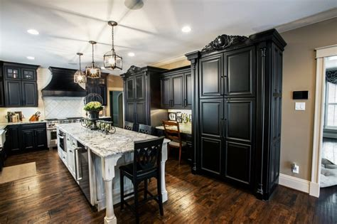 black white kitchen callier  thompson