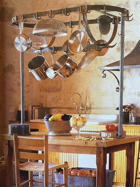 pot rack  island kitchen redecorating wrought iron decor wrought iron wine rack
