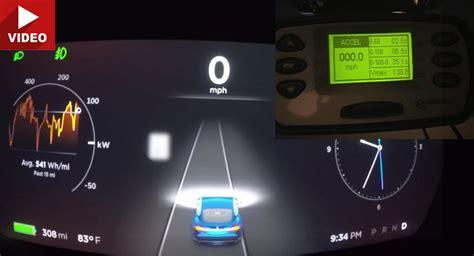 Tesla Model S P100d Owner Tests Out Multiple Acceleration