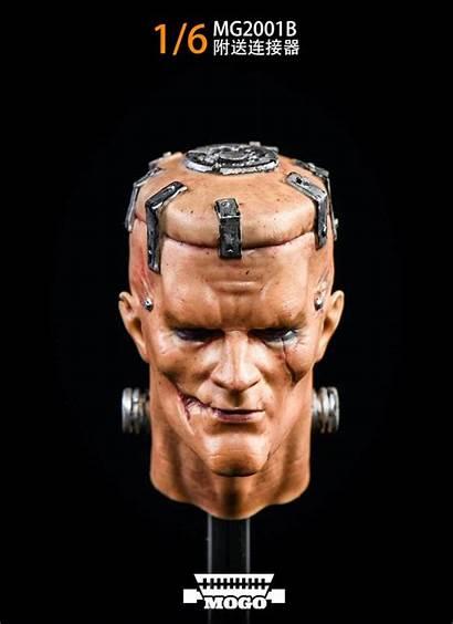 Head Sculpt Male Scale Mogo Toys Hw