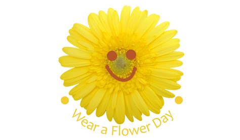 national wear flower day national awareness days
