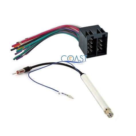 Audi A Car Radio Wiring by Car Radio Stereo Wiring Harness Antenna Adapter For 1994