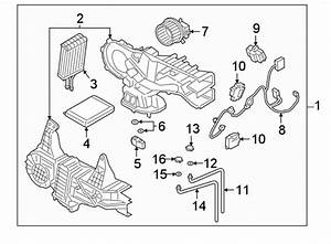 Ford Expedition Hvac System Wiring Harness  Rear Ac