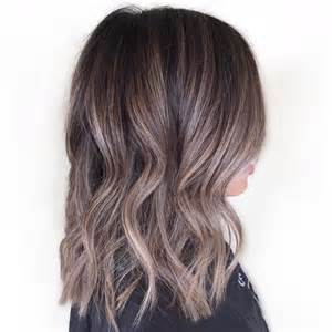 Dark Ash Brown Hair with Brown Highlights